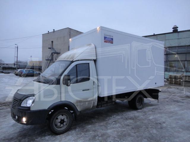 Удлинение +фургон изотерм
