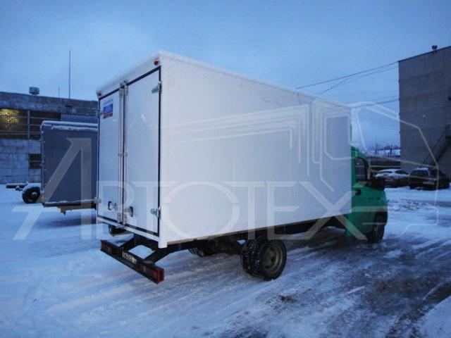Удлинение + промтоварный фургон